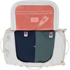 The North Face Base Camp Duffel S Vintage White/Burnt Coral
